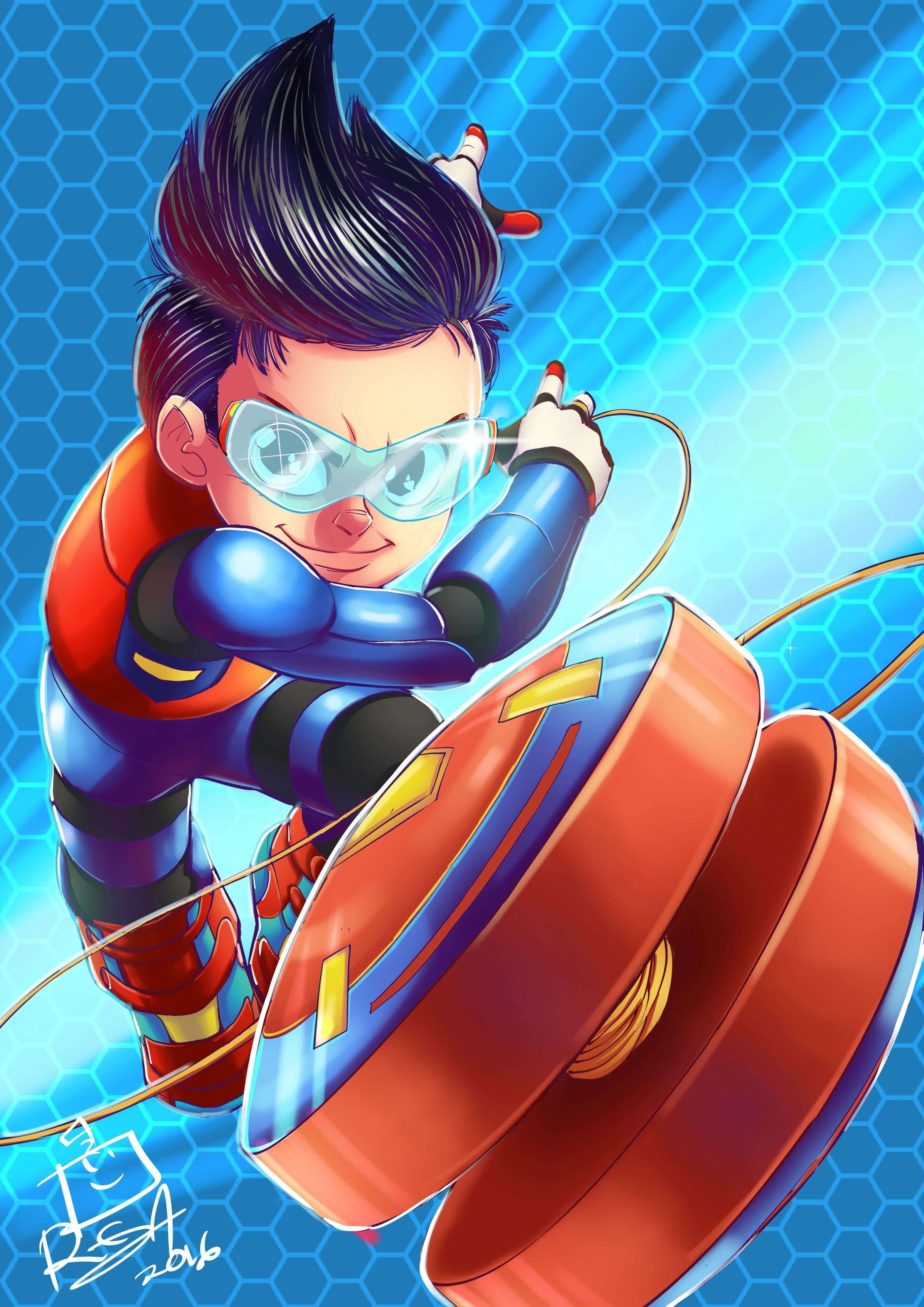 Ejen Ali fan art Ejen Ali is 2016 Malaysian new 3D Animation series Produced