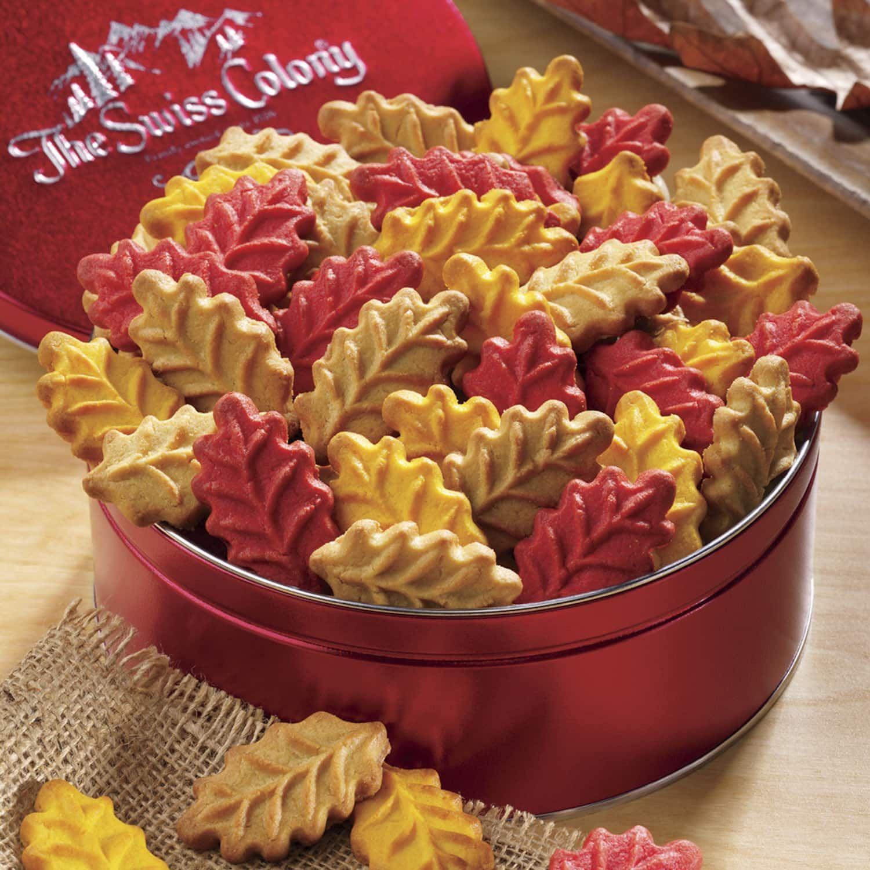 Almond leaf cookies food leaf cookies gourmet food gifts