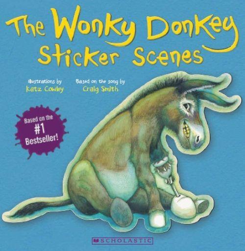 Product: The Wonky Donkey Sticker Scene Book - Book - School Essentials