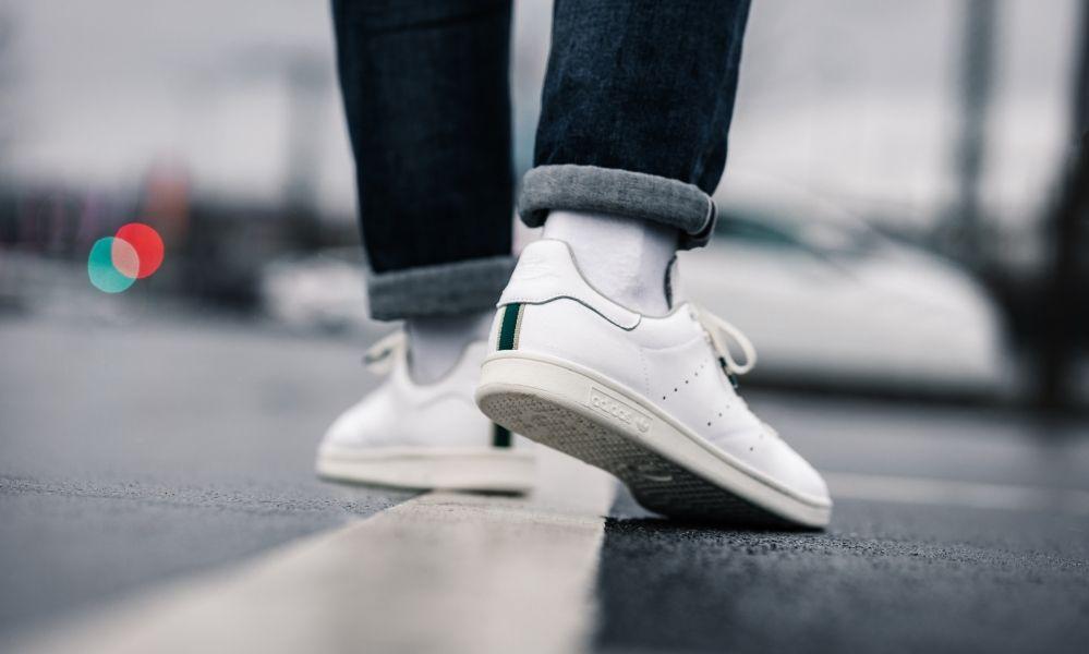 Adidas Stan Smith Style ohne