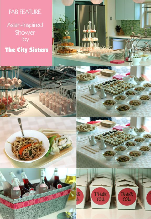 Go Modern Asian Inspired Bridal Shower Inspiration Bridal Shower