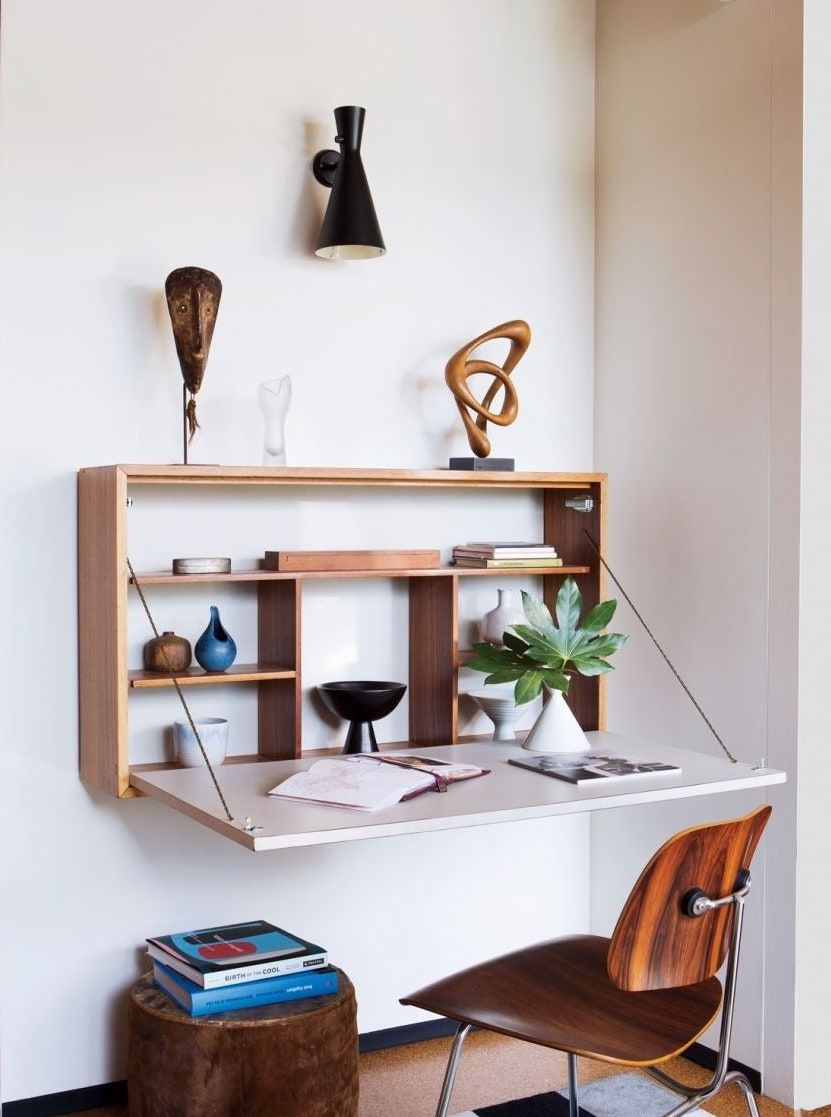 Working From Home How To Make It Work For You In 2020 Small Bedroom Desk Desk In Living Room Desks For Small Spaces