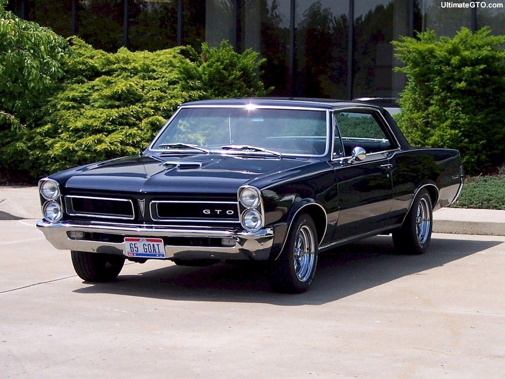 1965 Pontiac GTO  Probably my favorite muscle car of all time