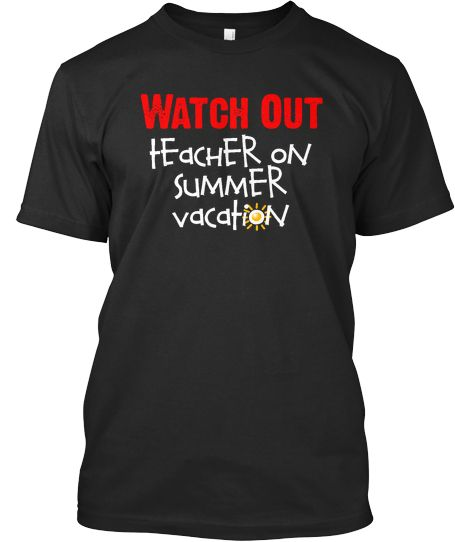 f8f2234b Teachers Love Summer Vacation T-Shirt | Available now at http://skreened