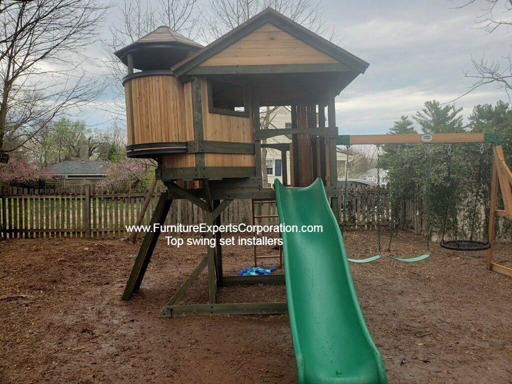 Backyard discovery eagles nest elite playset installation