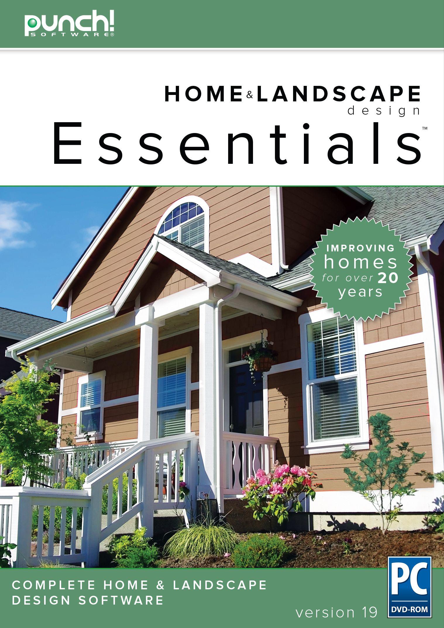 Lovely Home Design Essentials Part - 5: Home U0026 Landscape Design Essentials V19 Home Design Software For Windows PC  [Download