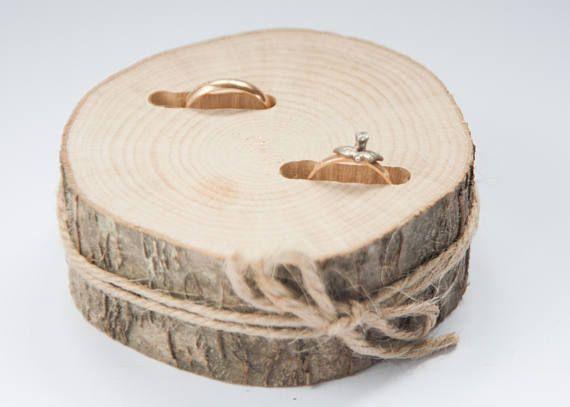 Wooden Ring Bearer Pillow Wedding Ring Holder Rustic Ring Box Oak Wedding Decoration Wood Wedding Decor Ring Pillow Alternative Ring Holder Wedding Wooden Rings Rustic Ring Box