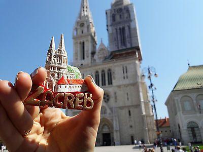 Original Fridge Magnet Zagreb Croatia Of Plastic Worldwide Delivery 100 Handmade Zagreb Croatia Zagreb The Originals