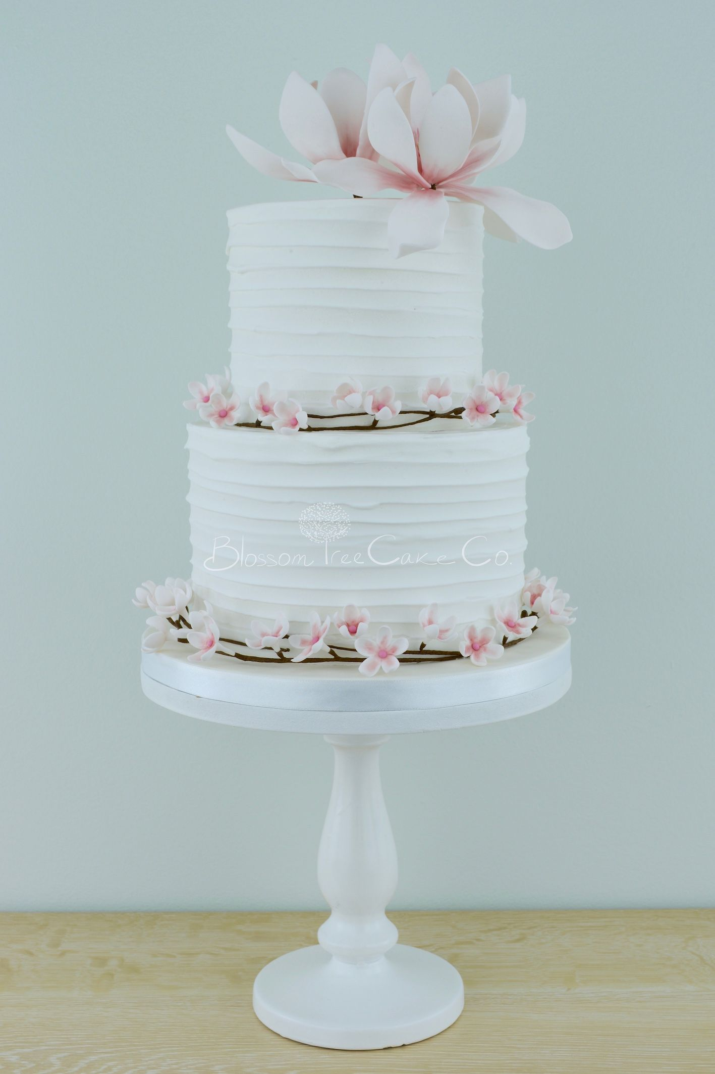 Famous Personalized Wedding Cake Toppers Big Cheap Wedding Cakes Rectangular Square Wedding Cakes 5 Tier Wedding Cake Young Best Wedding Cake Recipe ColouredWedding Cake Cutter Cherry Blossom Wedding Cake   Le « Cherry Blossom Cake » { Le ..