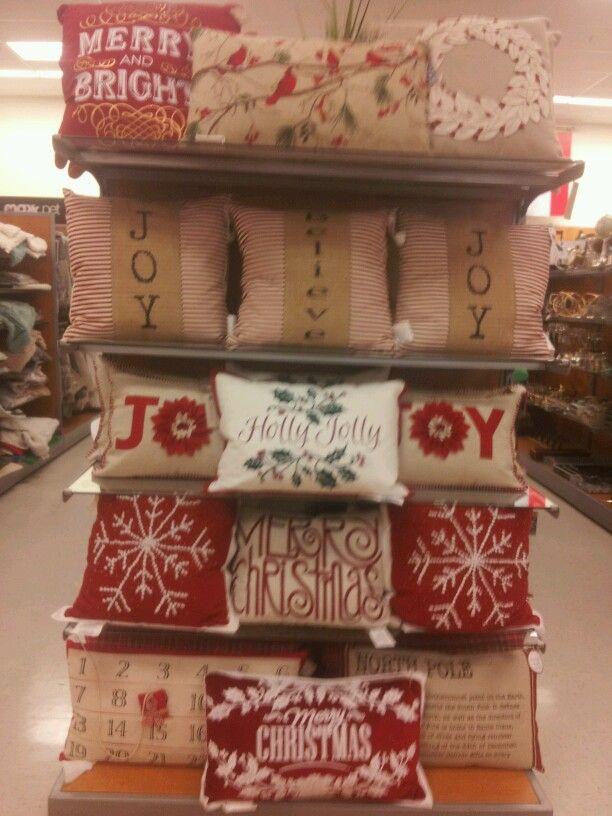 16x16 Hand Hooked Christmas Tree Pillow Throw Pillows T J Maxx