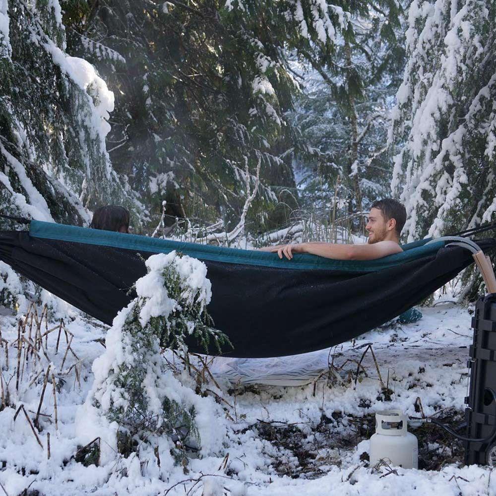 Home camping u outdoors pinterest hammock tub and camping