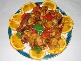 Kung Pao Three Flavors Oriental Chinese Restaurant Food Mediterranean Recipes Chinese Restaurant