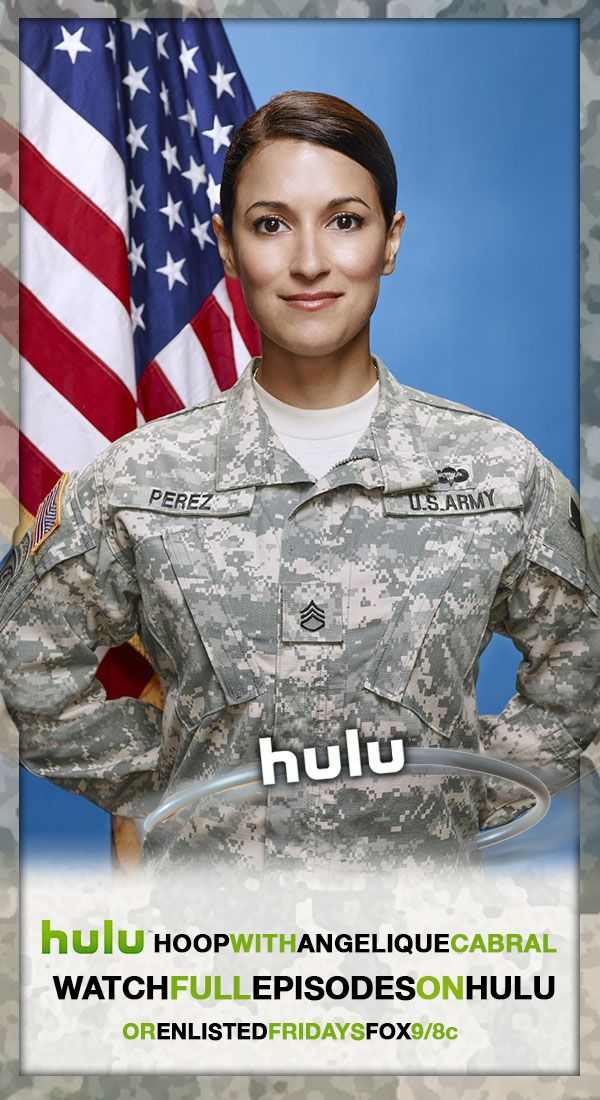 Hulu Hoop with Sgt. Perez. Comedy tv series, New