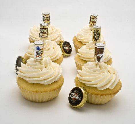 Cute For A Guys 21st Birthday Beer Cupcakes Cupcakes