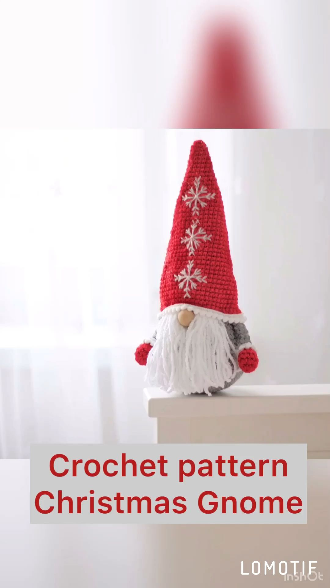 Photo of Crochet pattern Christmas gnomes. PDF pattern. Christmas home decor.