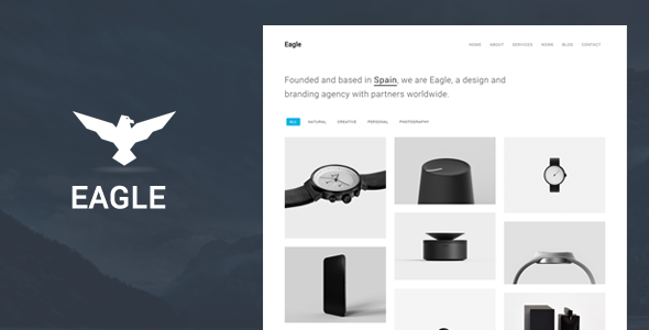 Eagle is fully responsive minimal template specifically built for agencies. It can be used to build a perfect website for any agency business, including creative agencies, architecture, interior de...