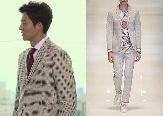 "Lee Jung-Jin 이정진 in ""Temptation"" Episode 8.  Gucci Spring 2014 Collection Suit #Kdrama #Temptation 유혹 #LeeJungJin"