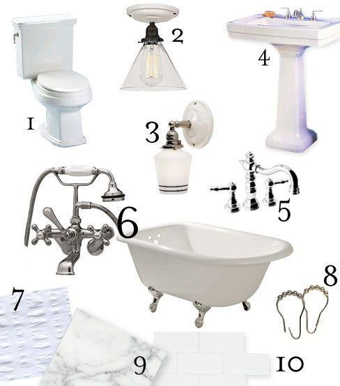Photo of Craftsman Bathroom Reno Inspiration and Sources. #vintagebathrooms