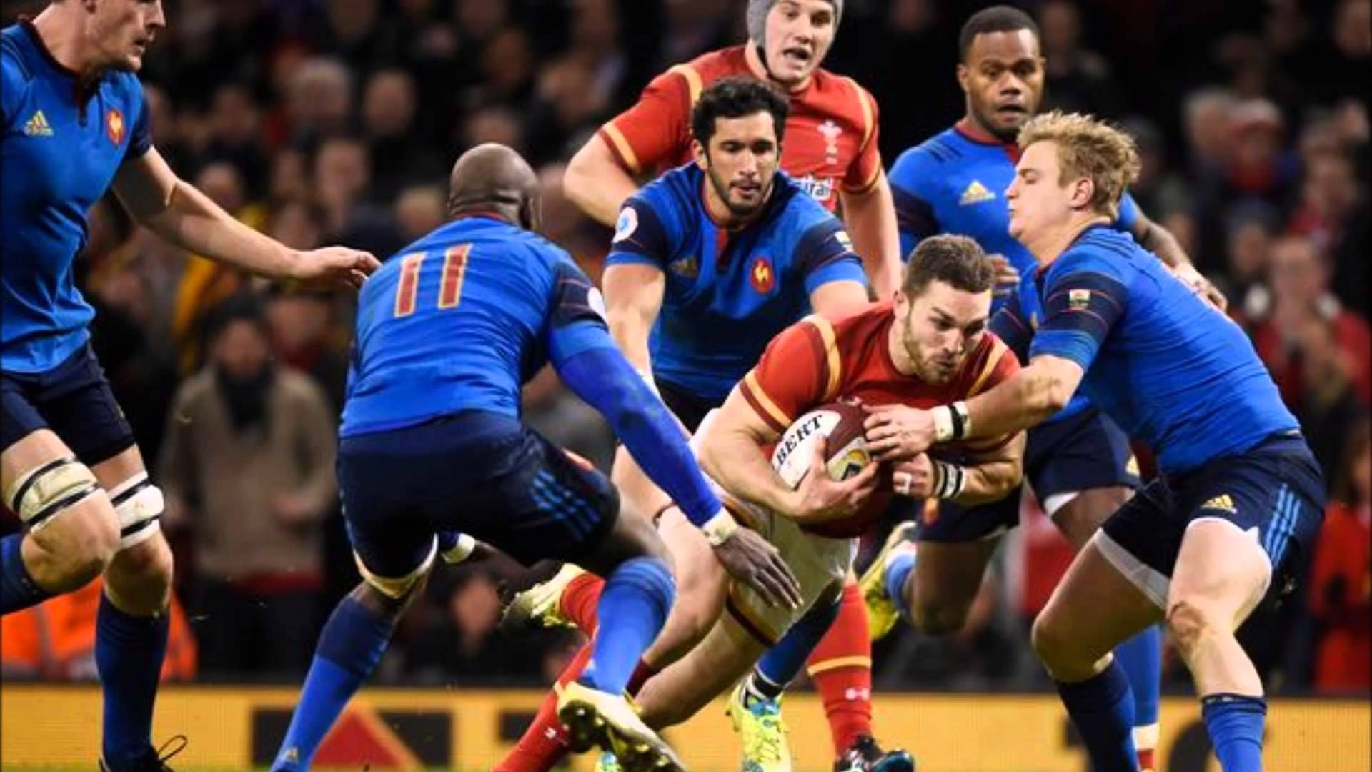 Wales 19 France 10 Six Nations 2016 - 5th straight Welsh win vs France