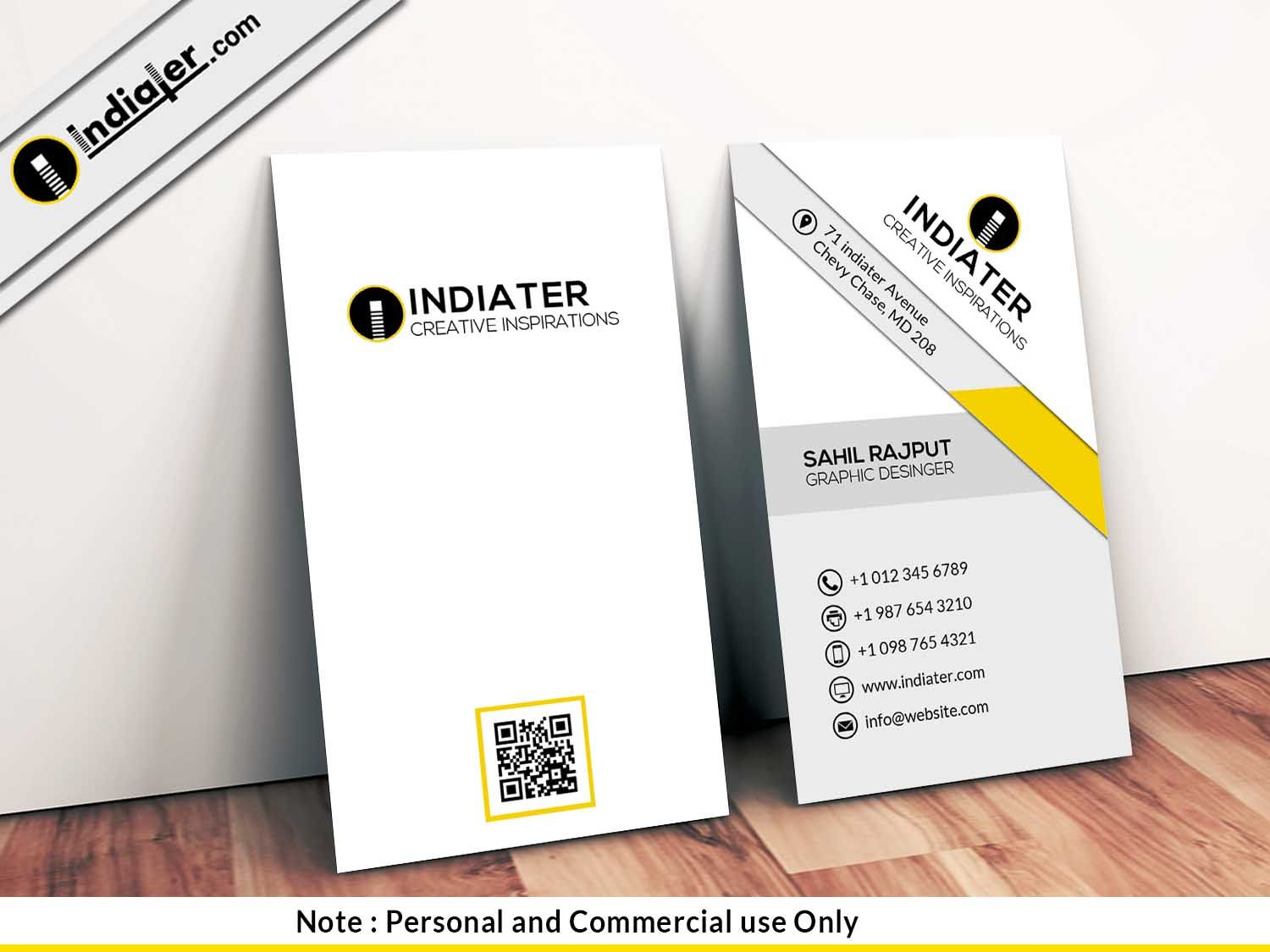 Financial Consultant Business Cards Psd Template