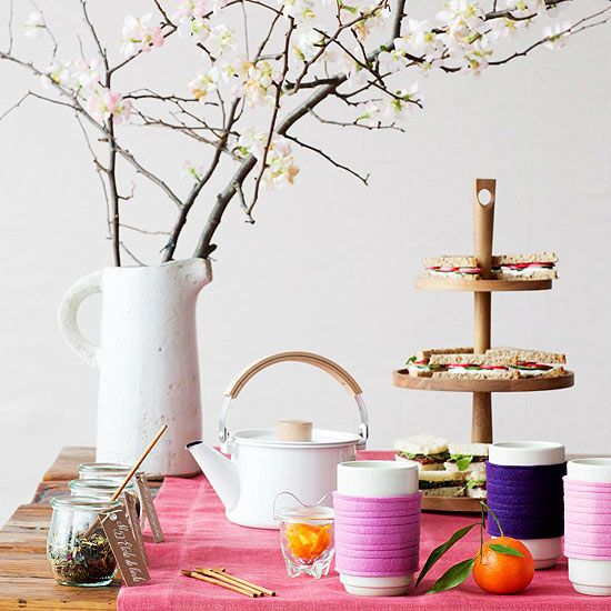 Pretty Tea Party Ideas And Recipes