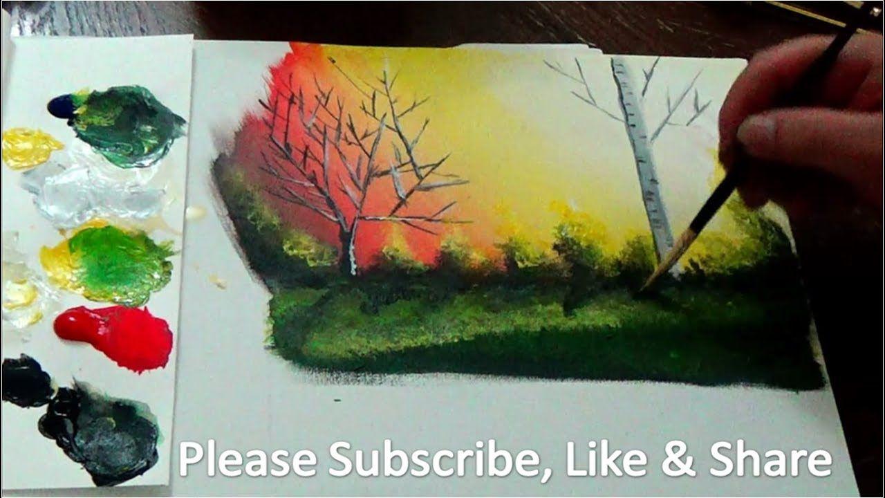 Learn To Paint Acrylic Color Mixing تلعم رسم تدرج الالوان الضؤ والظل اللوحة بالوان الاكريليك Youtube Art Painting Pictures To Draw