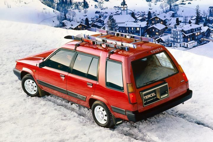 6 Classic Cars That Are Surprisingly Good Off Road Toyota Tercel Toyota Classic Cars