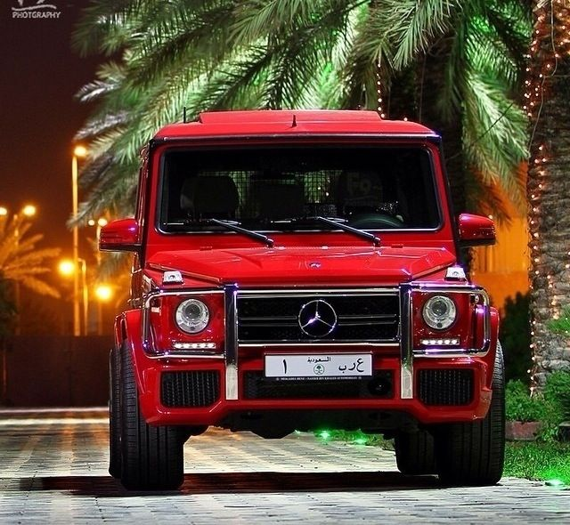 This Bad Boy Looks Great In Red Mercedes Benz Suv Mercedes Benz