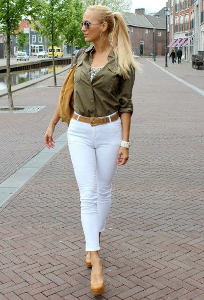 White Jeans And Heels White Jeans Amp Heels White Jeans