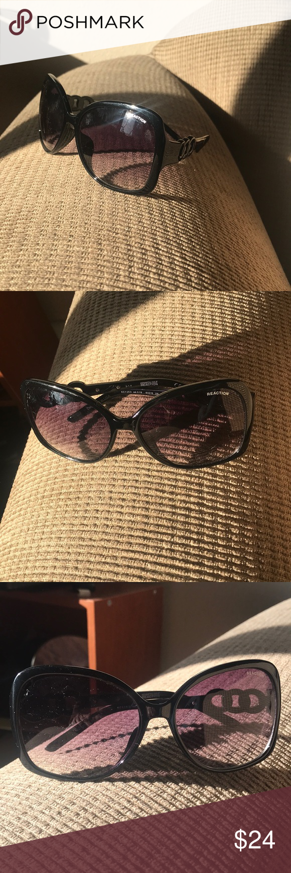 Reaction Kenneth Cole Sunglasses NWOT Super Cute! Love these! Perfect sunglasses…