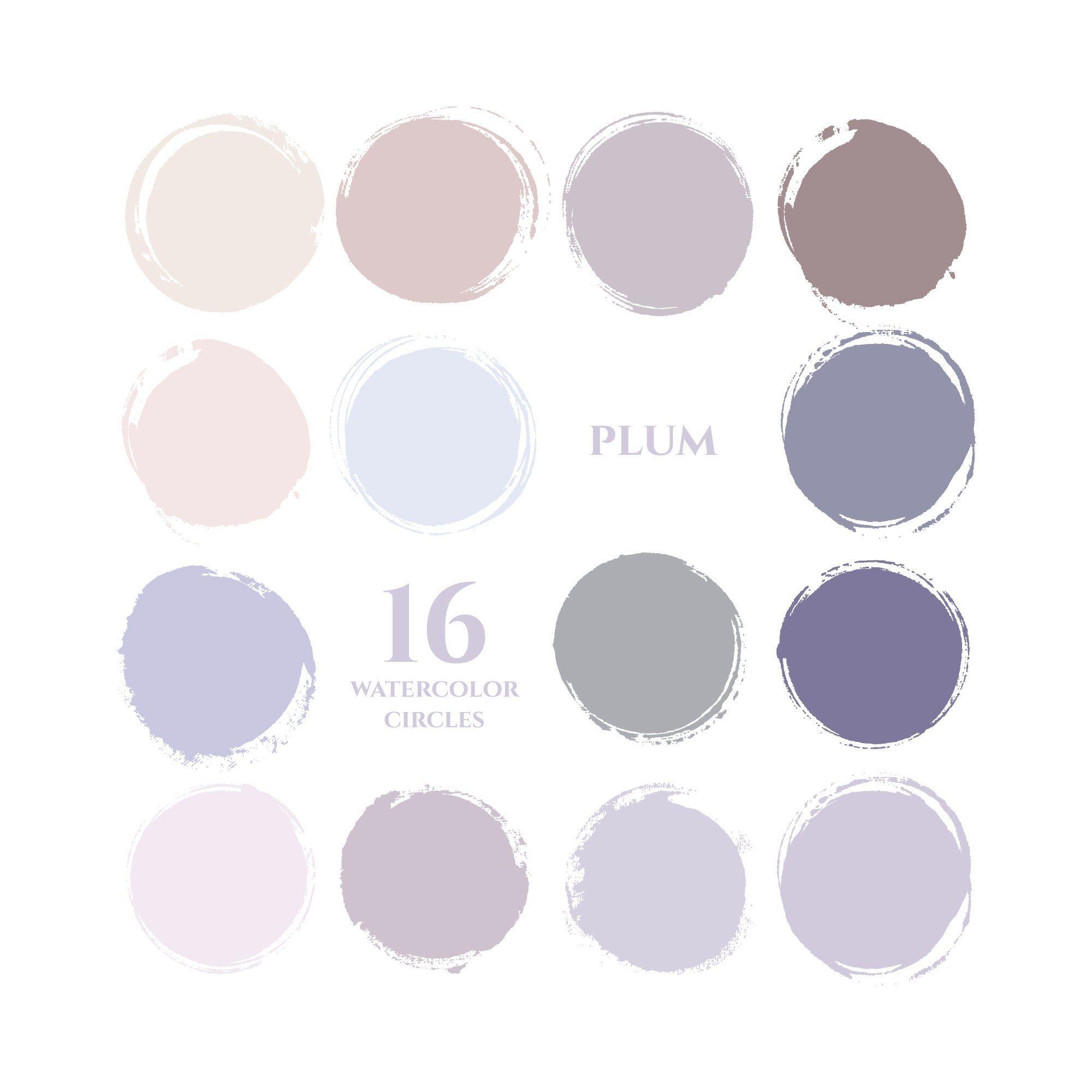 Purple instagram story highlight icons pastel blue plum