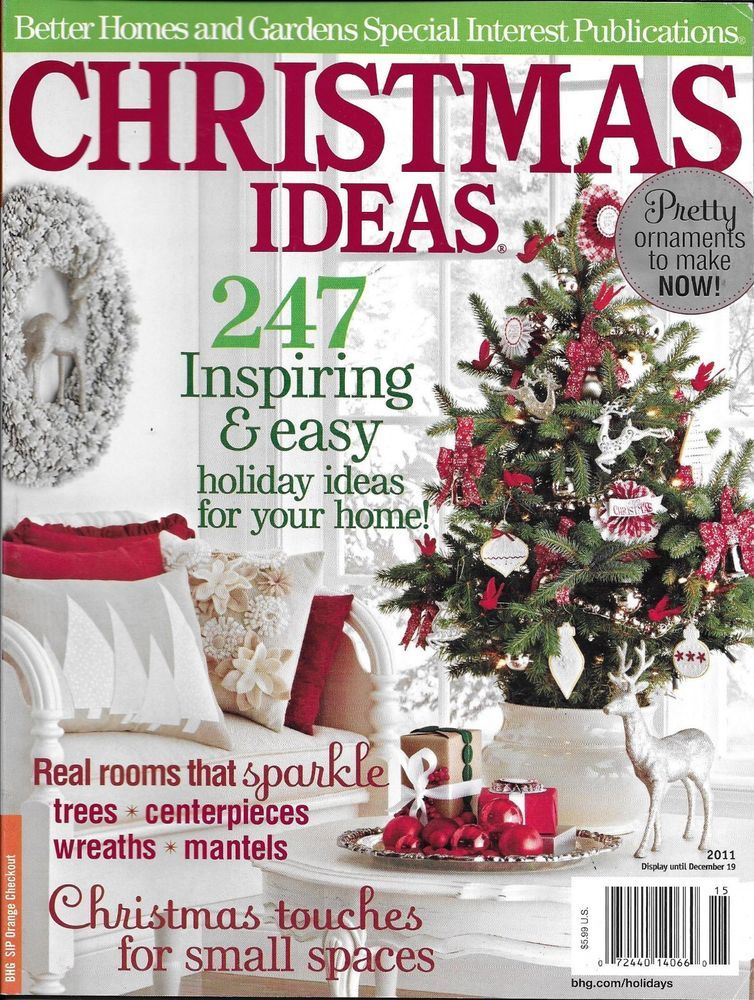 Christmas Ideas Magazine Holiday Home Decor Trees Wreaths Centerpieces Mantels Christmas Fun Holiday Crafts All Things Christmas