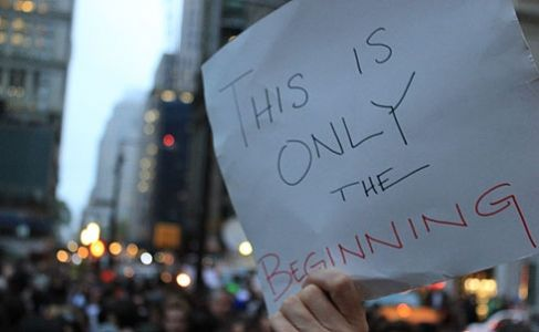 The beginning of a movement in October 2011 (by Francis Reynolds)