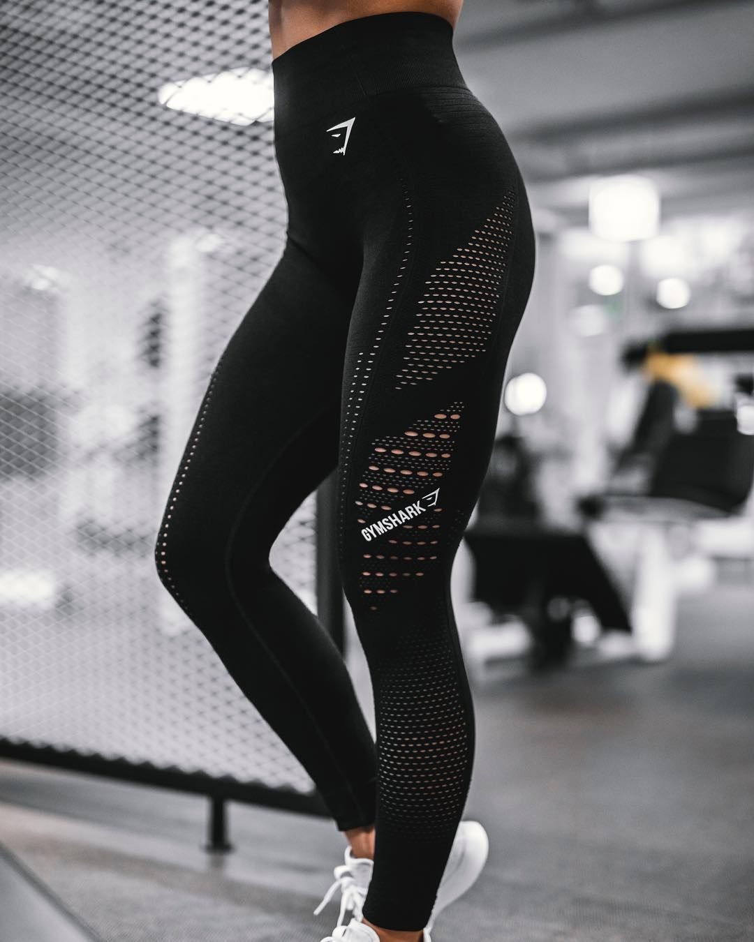 "a665e271b55c62 Gymshark Women on Instagram: ""Absolutely Flawless 💁 ♀ We all love a high  waisted fit... snap up the Flawless Knit tights tomorrow (6th December) at  3pm ..."