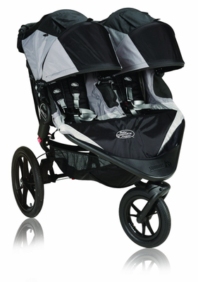 Best Double Jogging Strollers - Baby Jogger Summit X3 - black ...