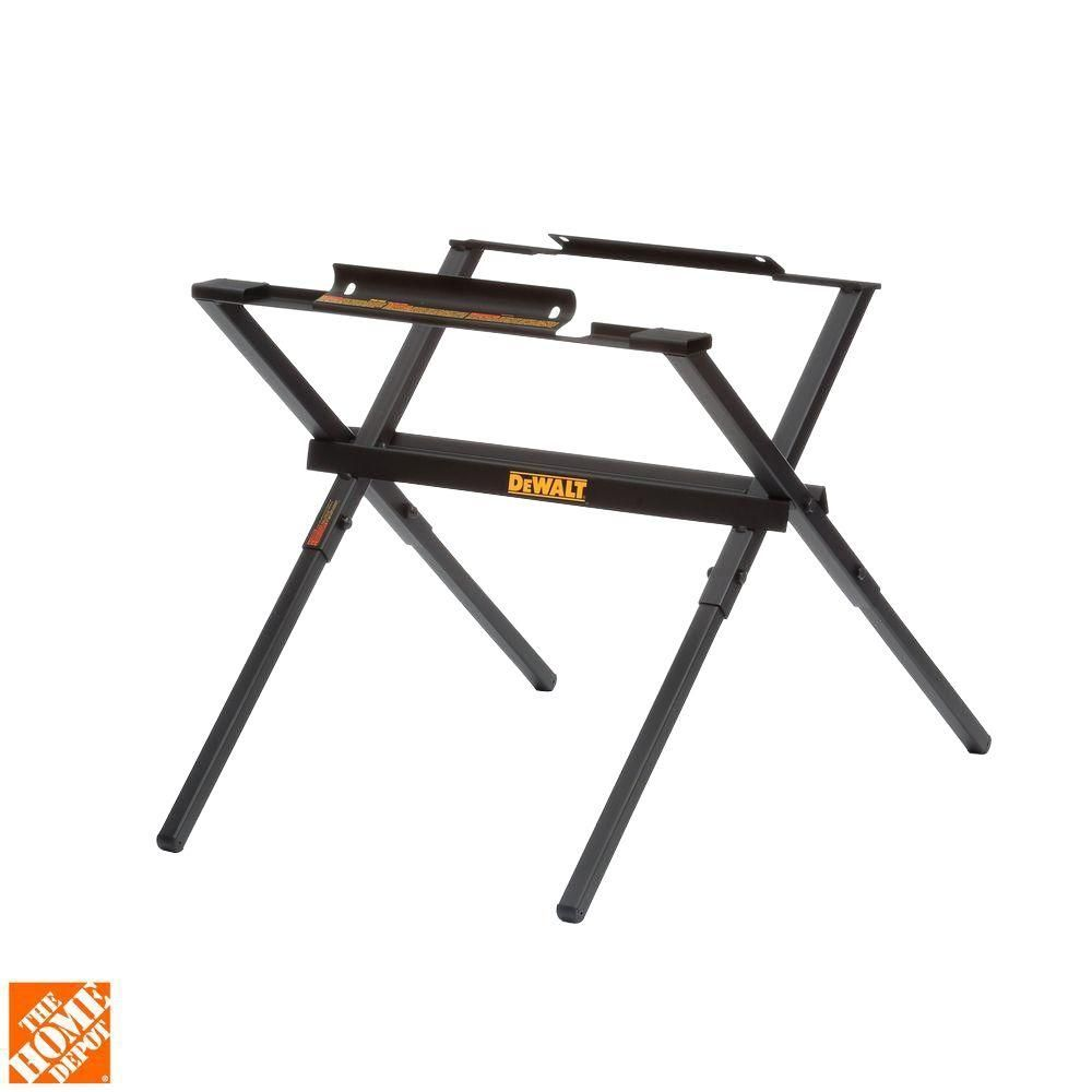 Dewalt 10 In Table Saw Stand Dw7450 The Home Depot