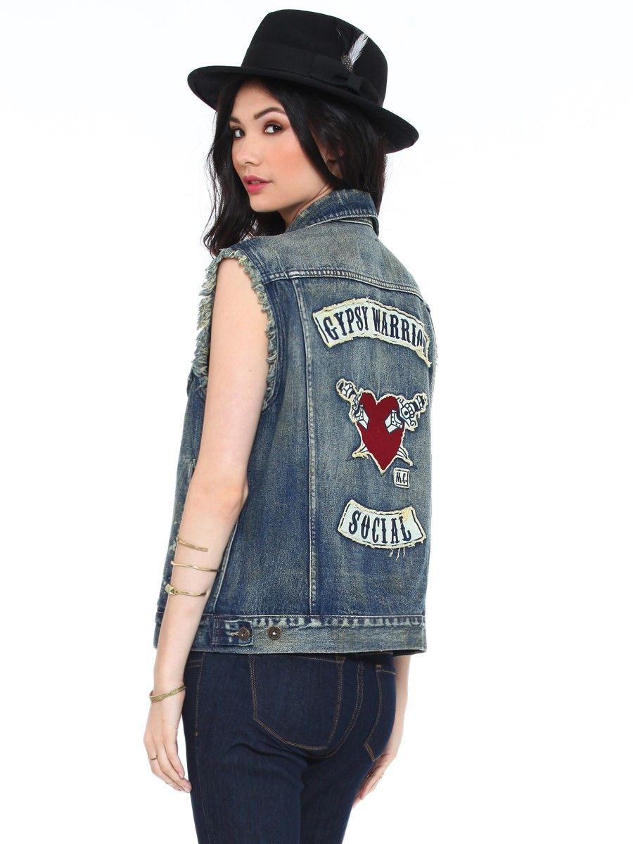 Gypsy Warrior Social Vest - Gypsy Warrior | GYPSY WARRIOR