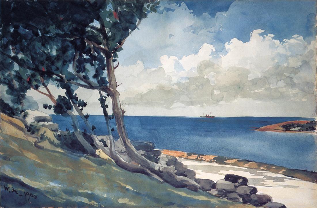 North Road Bermuda By Winslow Homer Winslow Homer Paintings