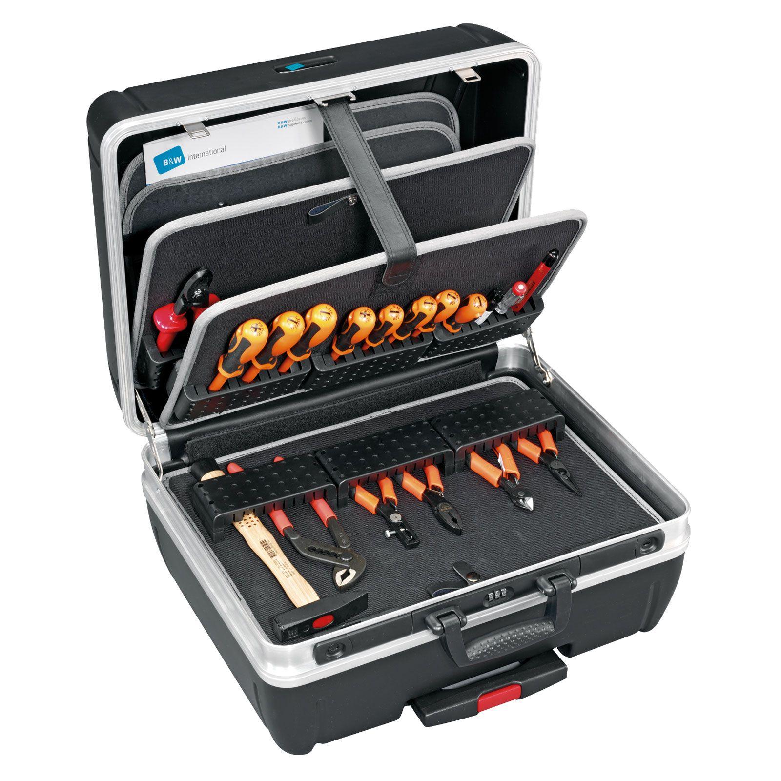 B W Top Case Trolley Werkzeugkoffer Typ Rhino Modul Werkzeugkoffer