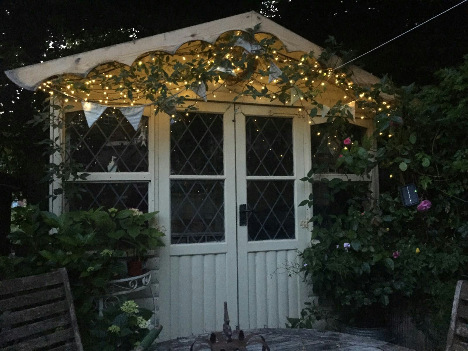 My Magical Summerhouse I Just Love Fairy Lights In The