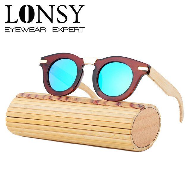 d5f15a2ace508 Wood Sunglasses Fashion Gafas Bamboo Wooden Sunglasses Women Brand Designer  Sports Oculo LS5011