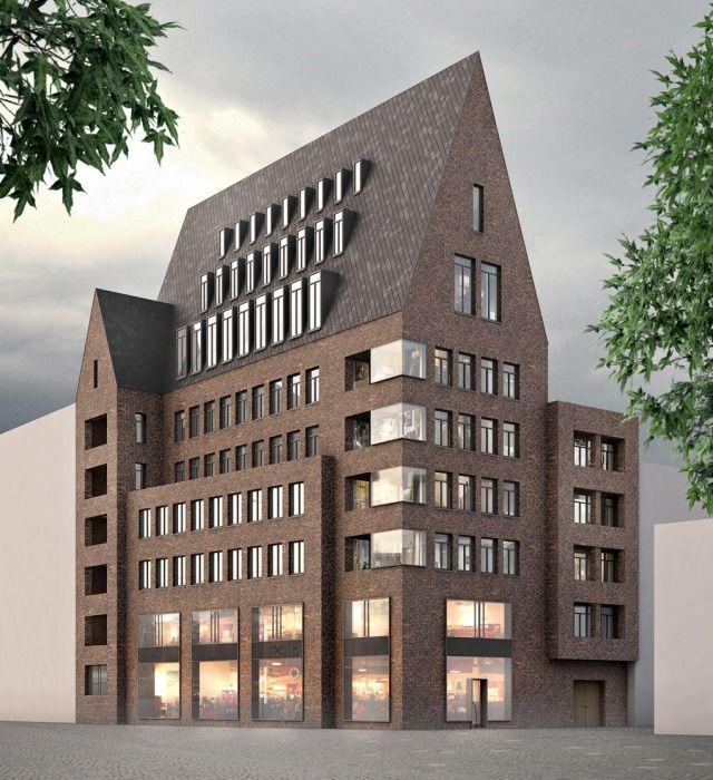 Bauwelt Von Brandlhuber Bis Patzschke Die Entwurfe Fur Die Werkbundstadt Architektur Architektur Berlin Architektur Zeichnungen