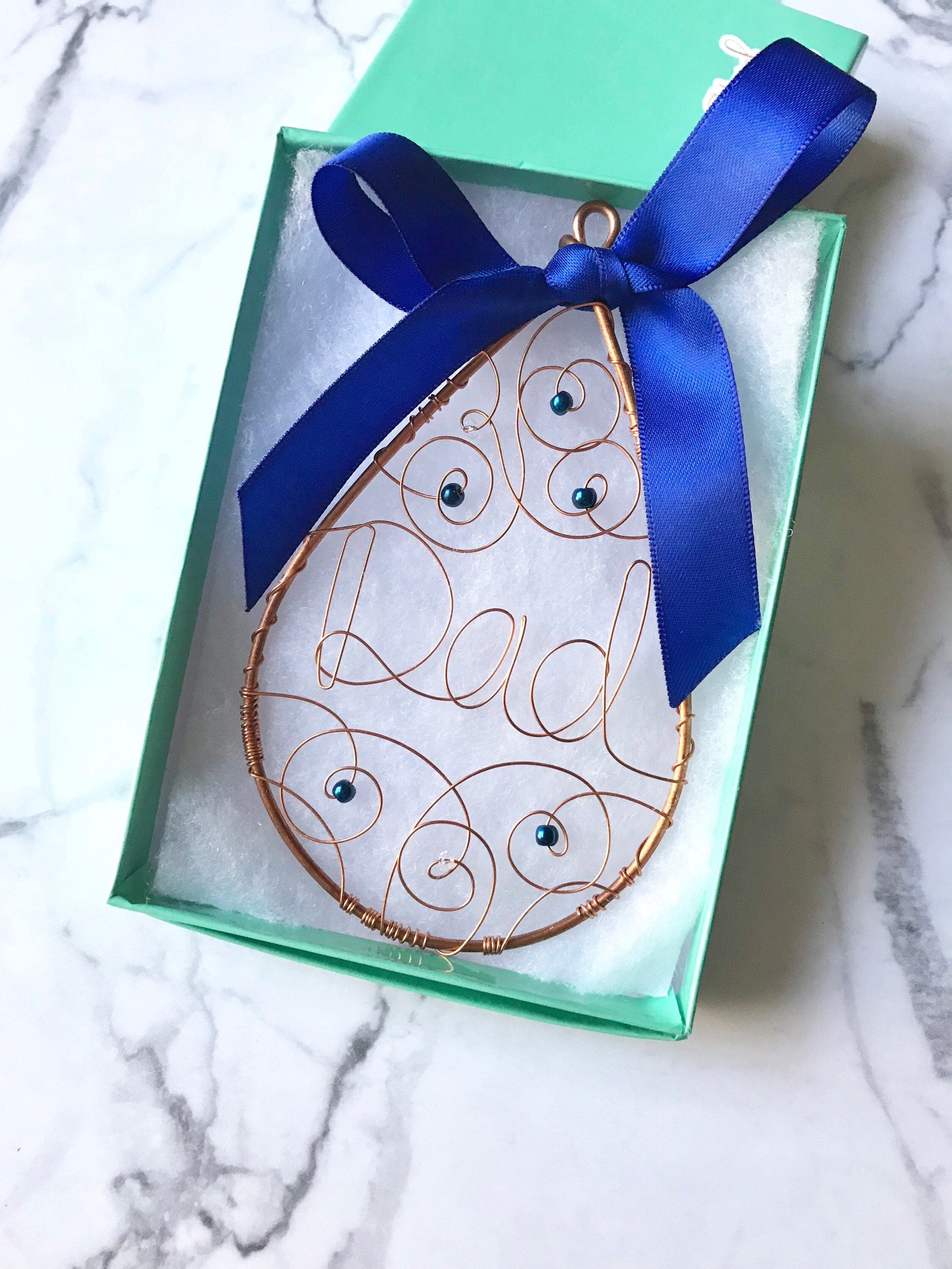 In memory of dad ornament sympathy gift loss of father