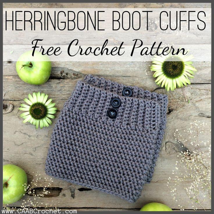 Crochet Boot Cuff Pattern | Pinterest