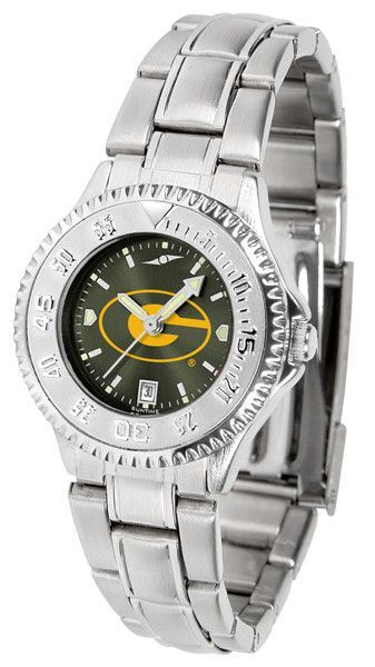Ladies Grambling State University Tigers - Competitor Steel AnoChrome Watch
