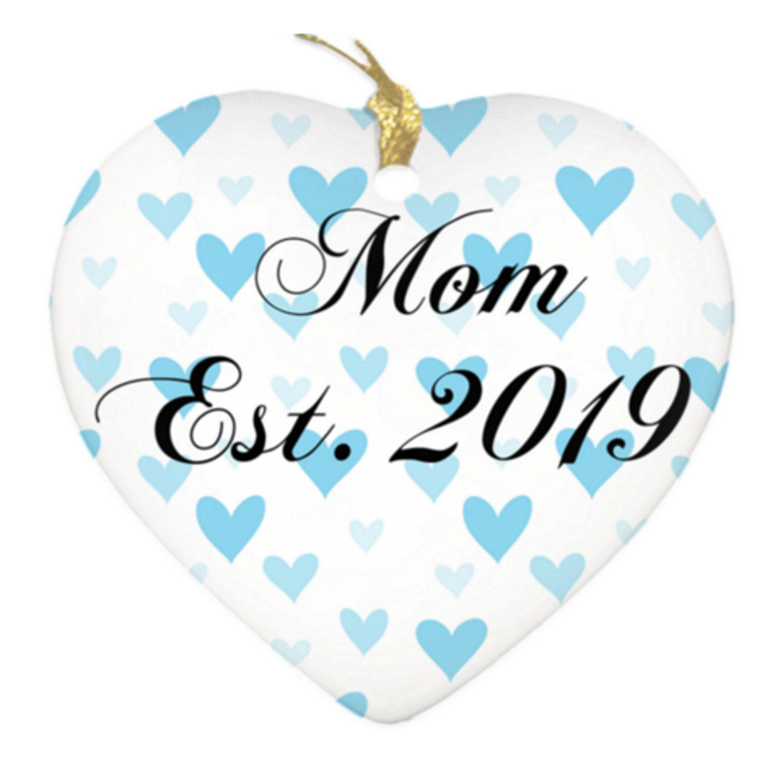Excited to share this item from my etsy shop mom est 2019 blue