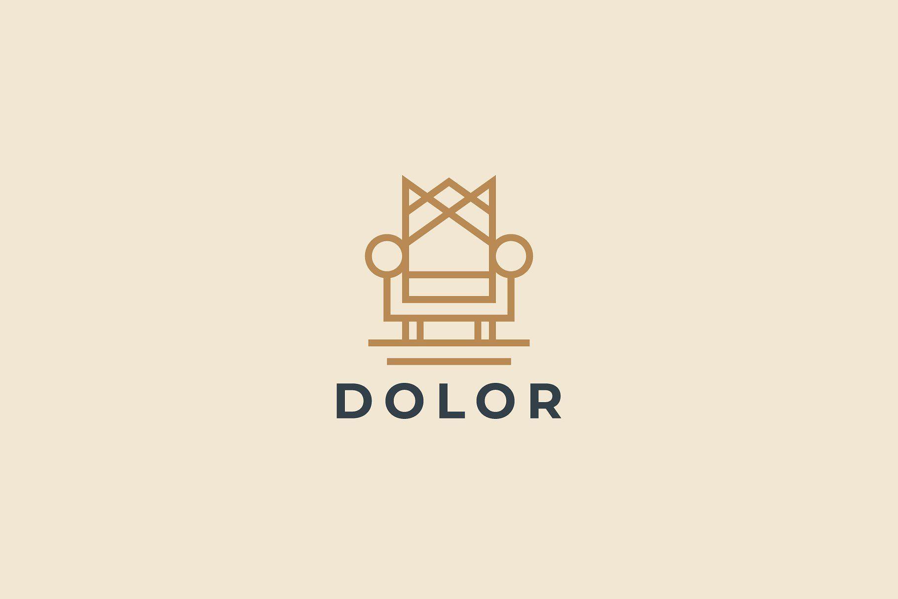 Throne Logotype In 2020 Boutique Logo Design Logo Design Furniture Logo