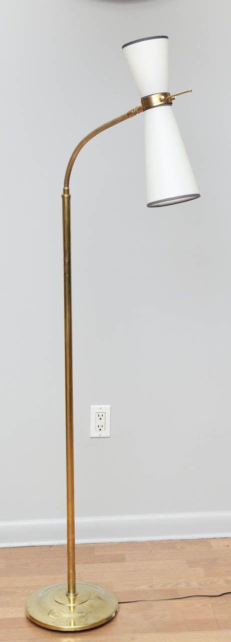 Mid century two light flexible neck floor lamp pierre guariche mid century two light flexible neck floor lamp pierre guariche mozeypictures Images