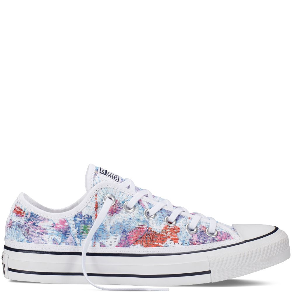 converse chuck taylor floral
