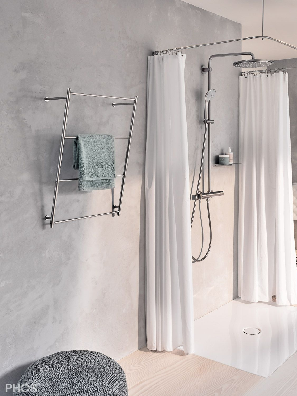 Duschvorhangstange U Form Quadratisch Dsu900 900d70 Duschvorhangstange Moderne Duschvorhange Dusche